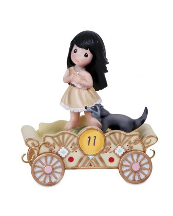 11th Birthday Pocahontas Disney Parade Figurine by Precious Moments  