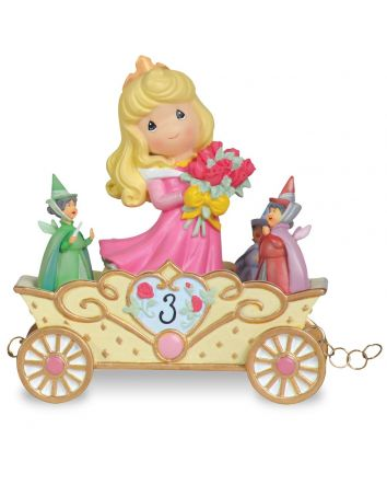 3rd Birthday Aurora Figurine Disney Showcase Collection by Precious Moments