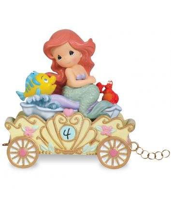 4th Birthday Ariel Figurine Disney Showcase Collection by Precious Moments