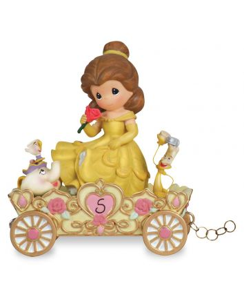 5th Birthday Belle Figurine Disney Showcase Collection by Precious Moments