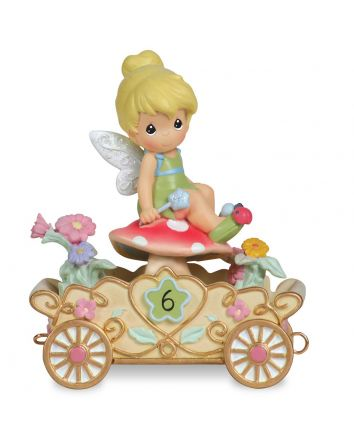 6th  Birthday Tinker Bell Figurine Disney Showcase Collection by Precious Moments