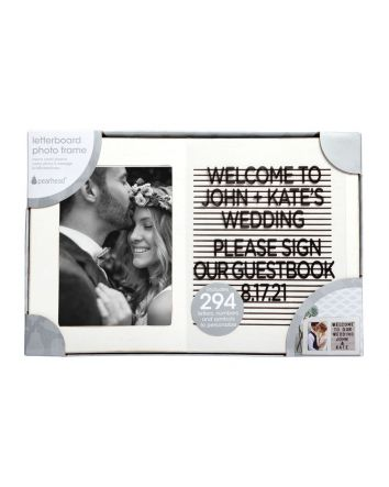 Fairy Tale Wedding Letterboard Photo Frame 