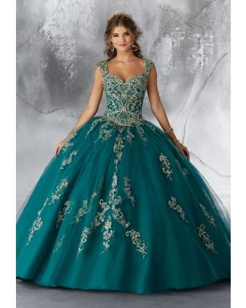 Vizcaya Emerald Ballgown Collection by Morilee