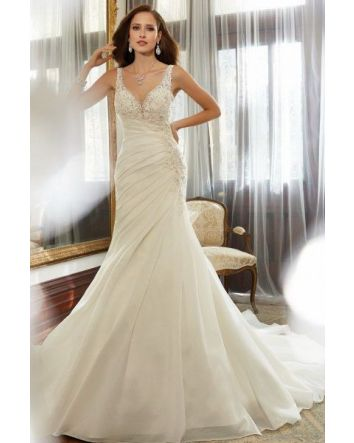 Unique Sophia Tolli wedding Gown  Y11559