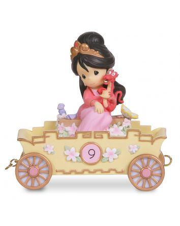 9th Birthday Mulan Figurine Disney Showcase Collection by Precious Moments
