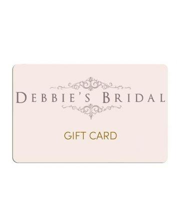 Debbie's Bridal Gift Card