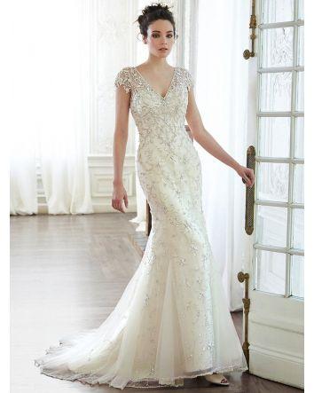 Dorys a Mega Glamorous wedding gown