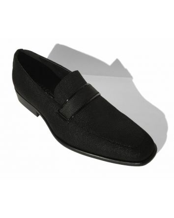 Couture 1910 Pindot Slip on Shoe w/ Top belt