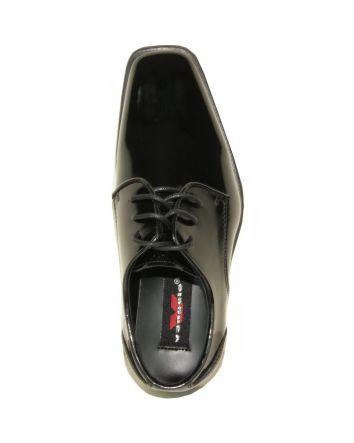 Boy's Dress Shoe Black Patent