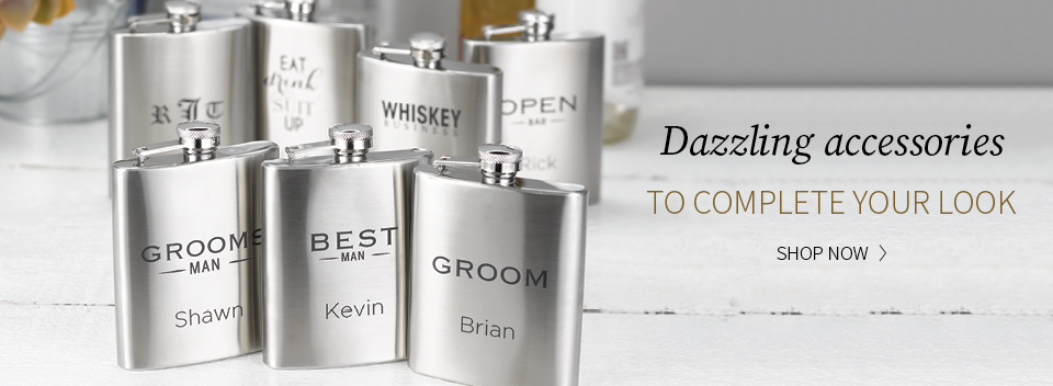 Personalize Your Gifts for the Bride and Groom
